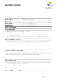 Monthly Report Template Word template Status Report Template Word 43