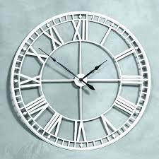 clock oversized white clock large turquoise wall clock grey kitchen wall oversized wall clock