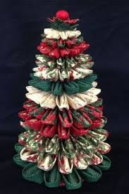 Homemade Quilted Christmas Ornaments Tutorial | Christmas ornament ... & Folded Fabric Christmas Tree Más Adamdwight.com