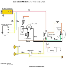 voltage regulator page only cub cadets so from what i have here this should work right capping off l terminal