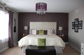 Bedrooms:Astonishing Purple And White Bedroom Accent Wall Coverings Purple  Grey Bedroom Purple And Silver