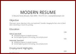 Resume Career Goal Examples Examples Of Resumes