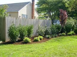 ... Fascinating Landscape Fence Ideas Fascinating Landscaping: Landscaping  Ideas Backyard Fence ...