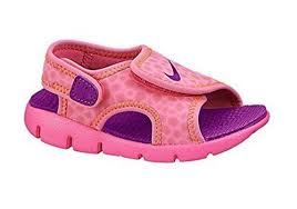 nike 8c. toddler girls size 8c or 9c nike sunray adjust 4 velcro sandals pink 8 | ebay
