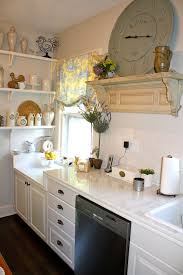 french country kitchen cabinets Kitchen Eclectic with custom paint