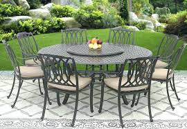 round outdoor dining sets. Delighful Dining Patio Dining Set For 8 Cast Aluminum R Of 7 Sets Best Throughout Round Outdoor Dining Sets A