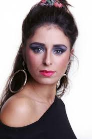 1980s style makeup tutorial mike turner photoshoots