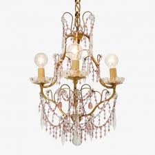 brass 3 arm chandelier by vintage italian 1950 abc home