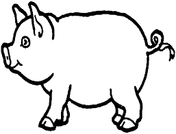 Small Picture Pig Coloring Pages Preschool Pinterest Story stones and Craft