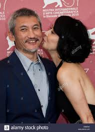 Director Tsui Hark and actors Carina Lau attend the photocall of Stock  Photo - Alamy