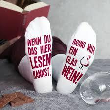 Weiße Socken Bring Mir Ein Glas Wein