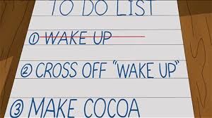 Image result for to do list gif