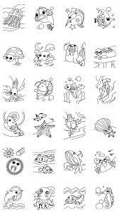 子供のぬりえ 海の動物 の画像集 Androidアプリ Applion