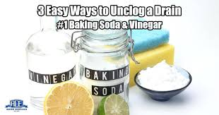 clean drain baking soda vinegar hot water 3 tips on how to clear a blocked ace home services do i unclog