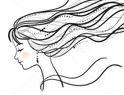 Beautiful Woman Face Vector Illustration Vector Illustration Elena
