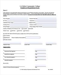Requisition Form In Pdf Interesting 48 Free Requisition Forms Sample Templates