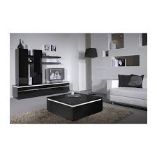 orde black high gloss coffee table with led lights coffee tables 1338 sena home furniture