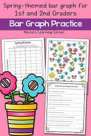 Spring Picture Bar Graph Worksheets - Mamas Learning Corner
