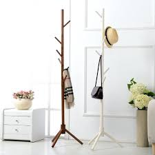 Solid Wood Coat Rack Amazing Hook Branch Solid Wooden Coat Rack Wall Hat Shelf Scarves Clothes