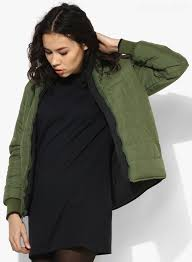 clearance womens winter jackets levi s green 6 on7 g solid winter jacket