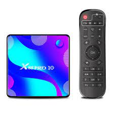 X88 PRO 10 Android 10.0 Smart TV Box