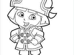 Dora The Explorer Colouring Pages Pdf Coloring Artistic To Winsome
