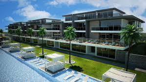luxury apartment exterior. luxury apartment exterior