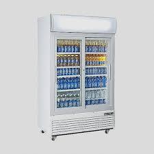 sliding door freezer luxury blizzard gd1000sl sliding double glass door refrigerator 1000 ltr
