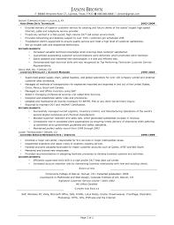 customer logistics manager resume in transportation manager resume sample transportation management resume