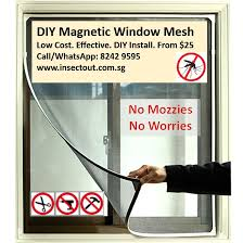 introducing diy magnetic insect screen window mesh