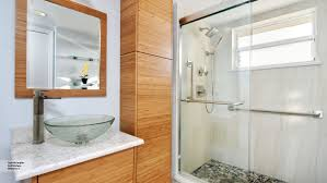 Natural Bamboo Bathroom Cabinets - Omega Cabinetry
