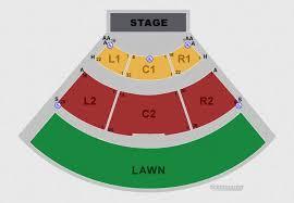 Seating Charts Spectrum Amphitheatre
