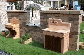 Barbecue Da Esterno In Pietra : Vendita lavelli da giardino