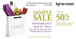 new york sample sales ligne roset sample sale