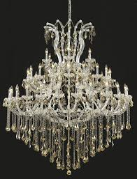 picture of elegant 2800g60c gt rc maria theresa chandeliers chrome 60in