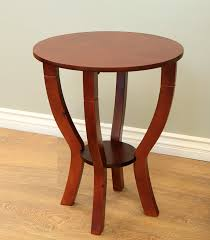 wooden end tables. Amazing Round End Tables Design Completing Your Room Perfectly. Modest Wooden Table I