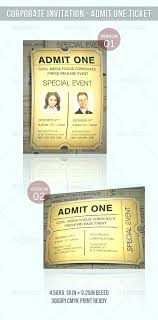 Elegant Admit One Wedding Invitations For Vector Plane Ticket