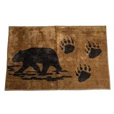 rustic bathroom rugs bear paws bathroom rug rustic star bathroom rugs rustic bathroom rugs