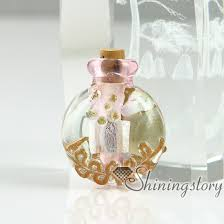 small glass vials for necklaces miniature hand blown glass bottle charms jewellery miniature glass jars design blown glass bottle pendant
