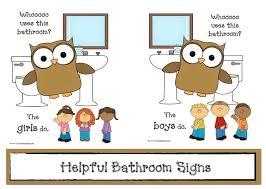 school bathrooms signs. Elementary School Bathroom Clipart Best I See Learn Free Closer Bathrooms Signs