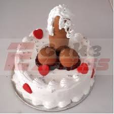 Customized Bachelorette Party Adult Cakes Delivery In Delhi