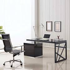 incredible office furnitureveneer modern shaped office. Fascinating Modern Office Desk Design And Stunning Working Chair Placed Inside Stylish Room Incredible Furnitureveneer Shaped