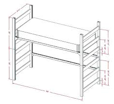 Dimensions Of A Double Bed 3 4 Bed Size Double Double Bed Size
