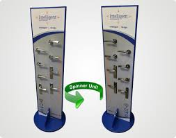 Hardware Display Stands Wooden MDF Display Stands 2