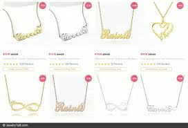 name necklaces ing guide 5 top