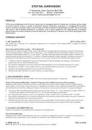 Procurement Manager Resume Sample Sample Resume For Purchase Manager ...