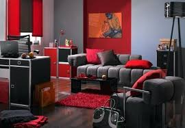 red room furniture. Red And Gray Room Pop Art Design For Living With Grey Sofa Wall . Furniture G