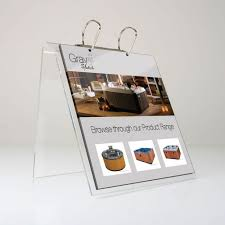 Display Binders With Stand Binder Display Counter Stand 52