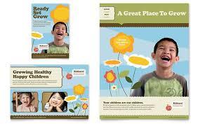 Sample Preschool Brochure
