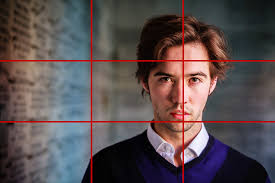 Image Course Portrait Of Man With Negative Space And Rule Of Thirds Grid The Creative Photographer Beyond The Rule Of Thirds